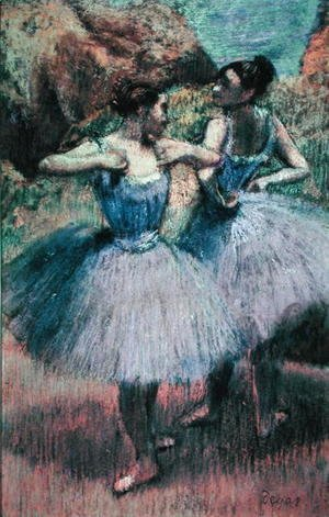 Edgar Degas - Dancers in Violet