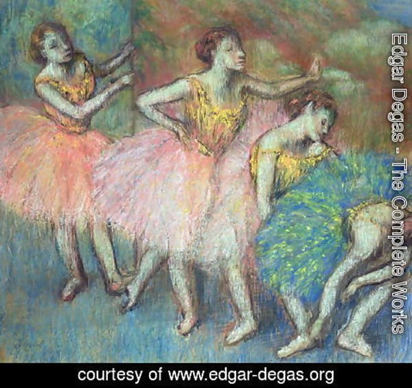 Edgar Degas - Four Dancers, 1903