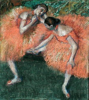 Edgar Degas - Two Dancers, c.1898