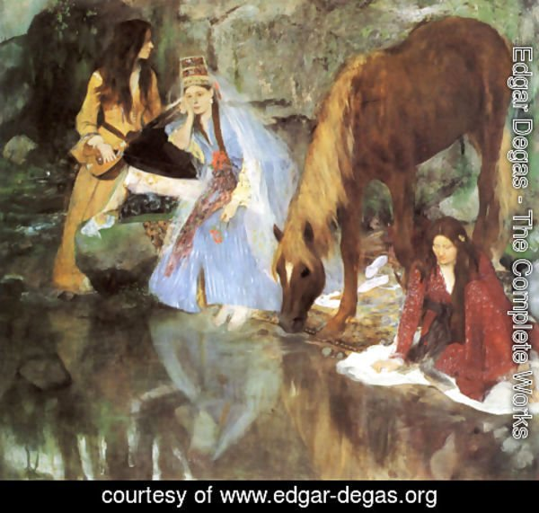 Edgar Degas - Mademoiselle Fiocre in the ballet 'La Source'