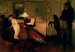 Edgar Degas - The Interior (Rape Scene), c.1868