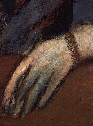 Portrait of Helene Rouart (detail)