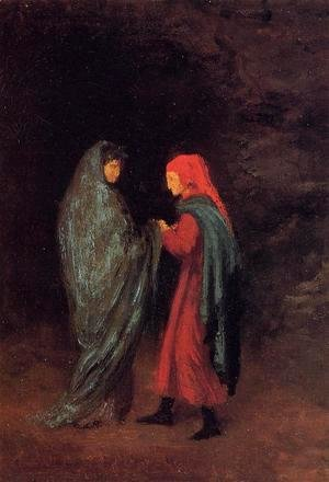 Edgar Degas - Dante and Virgil at the Entrance to Hell