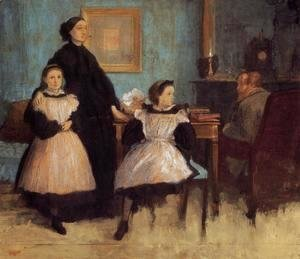 Edgar Degas - The Bellelli Family