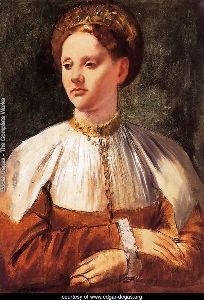 Portrait of a Young Woman (after Bacchiacca)