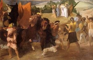 Edgar Degas - The Daughter of Jephtha
