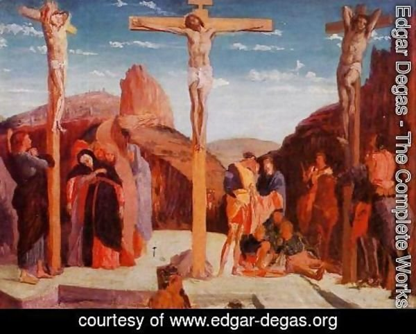 Edgar Degas - The Crucifixion (after Matagna)