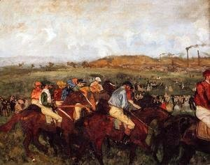 Edgar Degas - The Gentlemen's Race: Before the Start