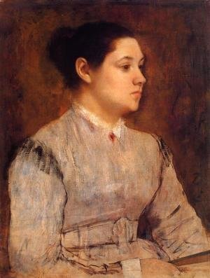 Edgar Degas - Portrait of a Young Woman 2