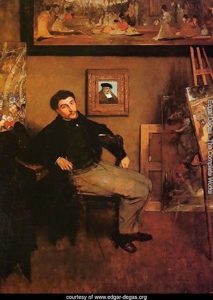 Portrait of James Tissot