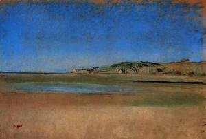 Edgar Degas - Houses by the Seaside