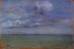 Edgar Degas - Seascape