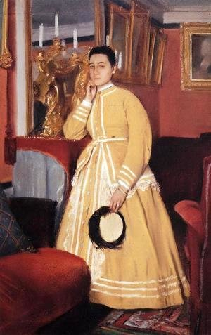 Edgar Degas - Portrait of Madame Edmondo Morbilli, nee Therese De Gas I