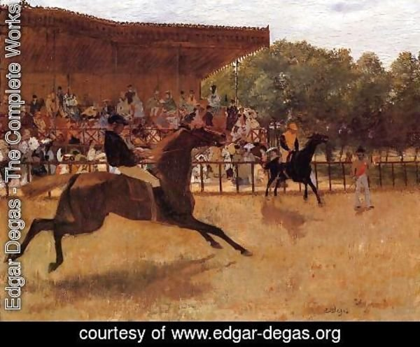 Edgar Degas - The False Start