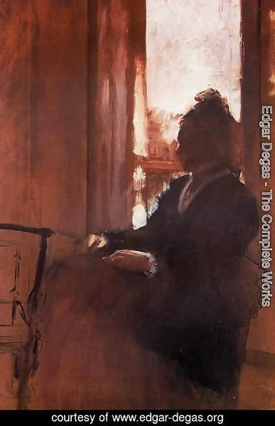 Edgar Degas - Woman at the Window
