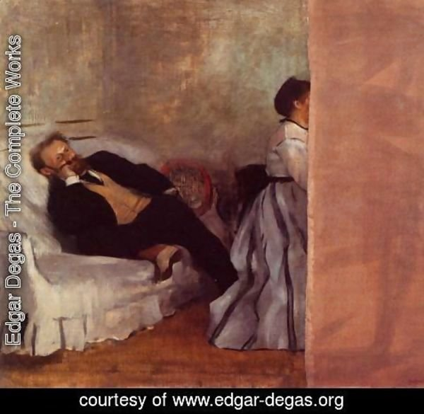 Edgar Degas - M. and Mme Edouard Manet
