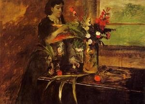 Edgar Degas - Portrait of Mme. Rene De Gas, nee Estelle Musson