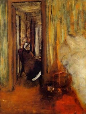 Edgar Degas - The Nurse