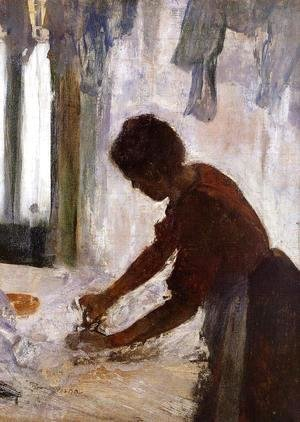 Edgar Degas - Woman Ironing II