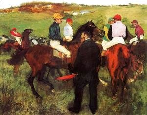 Racehorses at Longchamp I