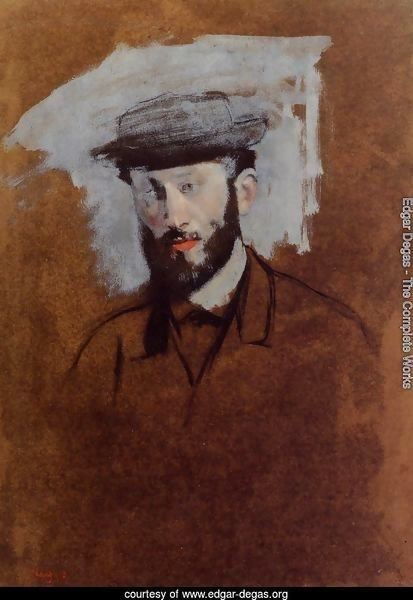 Portrait of Eugene Manet (study)