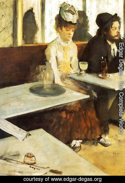 Edgar Degas - The Absinthe Drinker