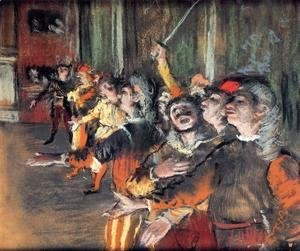 Edgar Degas - The Chorus