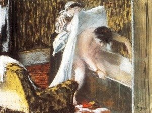 Woman Leaving Her Bath