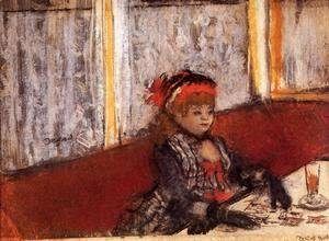 Edgar Degas - Woman in a Cafe
