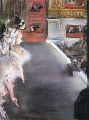 Edgar Degas - Dancers at the Old Opera House