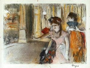 Edgar Degas - Singers on Stage