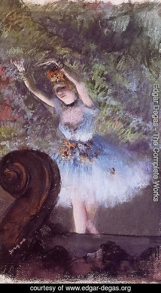 Edgar Degas - Dancer III