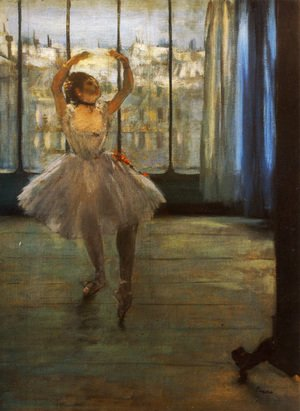 Edgar Degas - Dancer Posing
