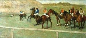 Edgar Degas - Before the Start I