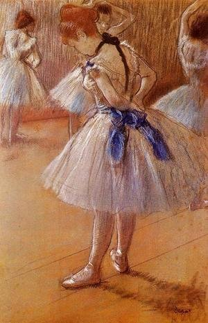 Edgar Degas - The Dance Studio
