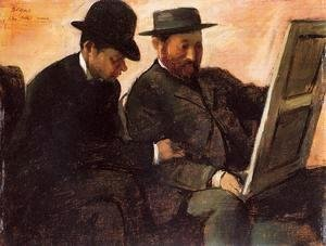 Edgar Degas - The Amateurs