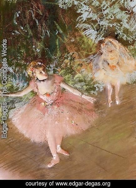 Edgar Degas - Dancer on Stage
