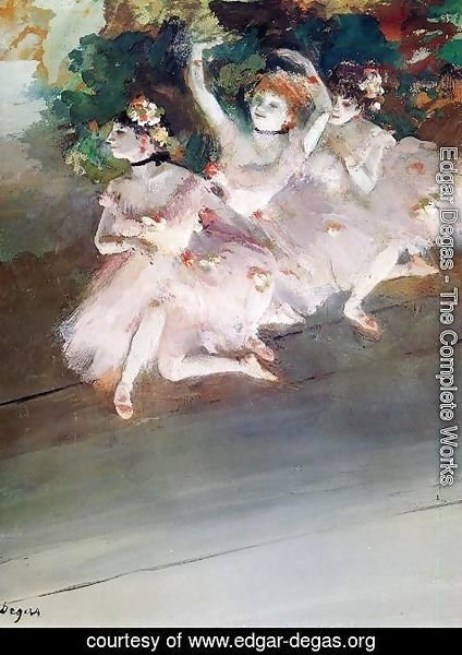 Edgar Degas - Three Ballet Dancers