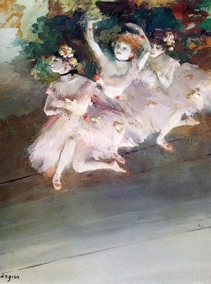 Three Ballet Dancers