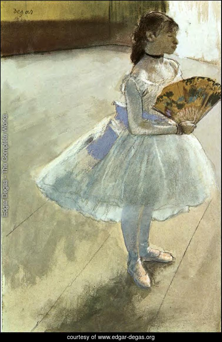 Edgar Degas - The Complete Works - Dancer with a Fan ... | 755 x 1161 jpeg 120kB