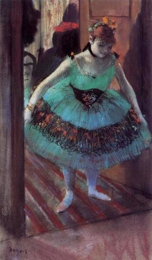 Edgar Degas - Dancer Leaving Her Dressing Room