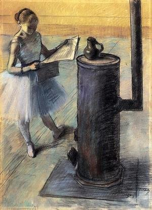 Edgar Degas - Dancer Resting I