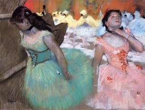 Edgar Degas - The Entrance of the Masked Dancers