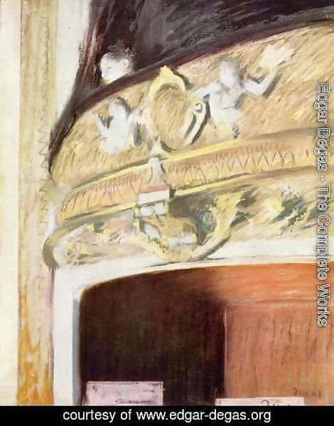 Edgar Degas - The Box at the Opera