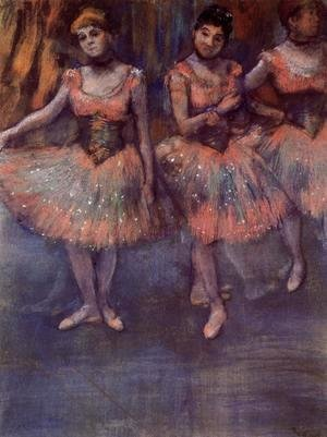 Three Dancers before Exercise