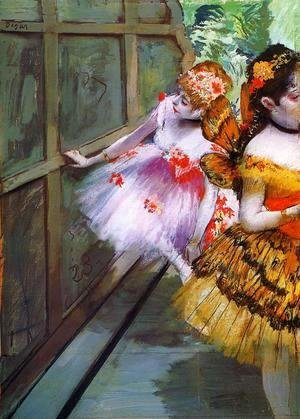 Edgar Degas - Ballet Dancers in Butterfly Costumes (detail)