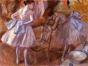 Edgar Degas - Two Dancers in Their Dressing Room