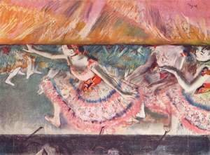 Edgar Degas - Lowering the Curtain