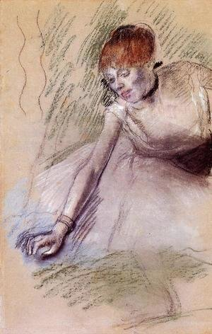 Edgar Degas - Bowing Dancer