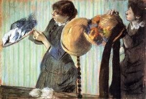 Edgar Degas - The Little Milliners